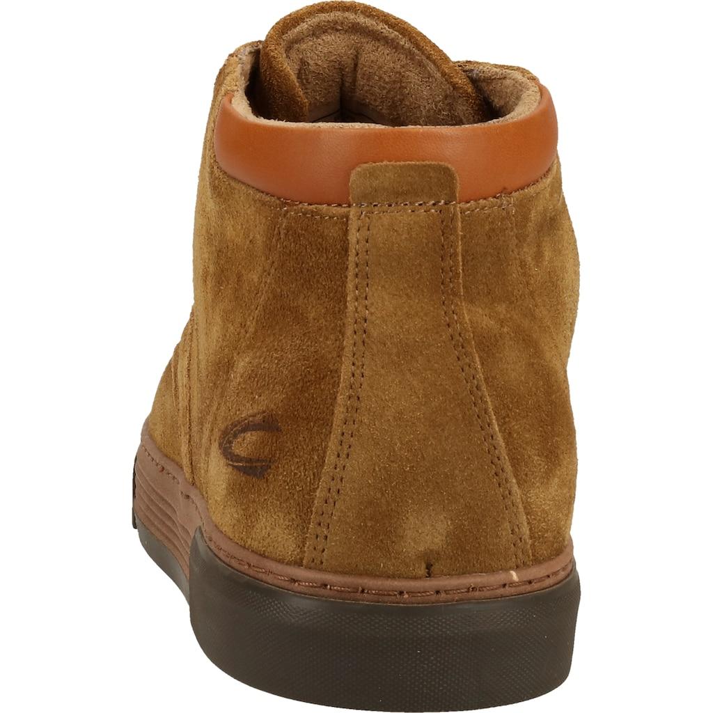 camel active Schnürstiefelette »Nubukleder«
