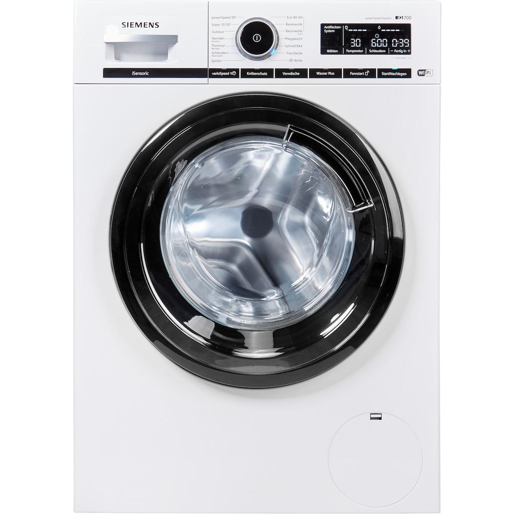 SIEMENS Waschmaschine »WM16XMJ00P«, iQ700, WM16XMJ00P