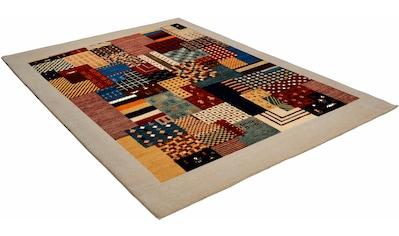 Wollteppich, »Lori Astara«, THEKO, rechteckig, Höhe 16 mm, manuell geknüpft kaufen