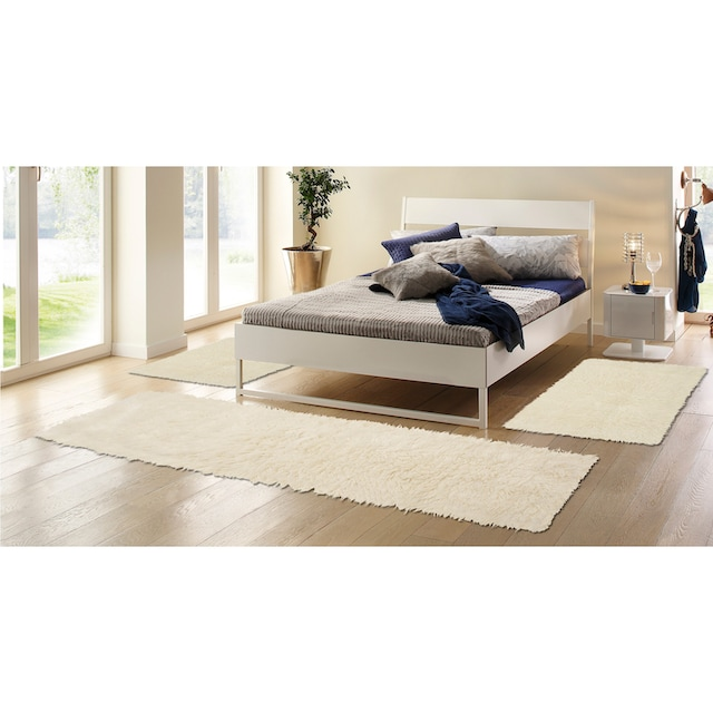 Bettumrandung »Flokati 1500 g« Böing Carpet, Höhe 60 mm (3-tlg.)