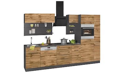 HELD MÖBEL Küchenzeile »Tulsa«, ohne E - Geräte, Breite 300 cm kaufen