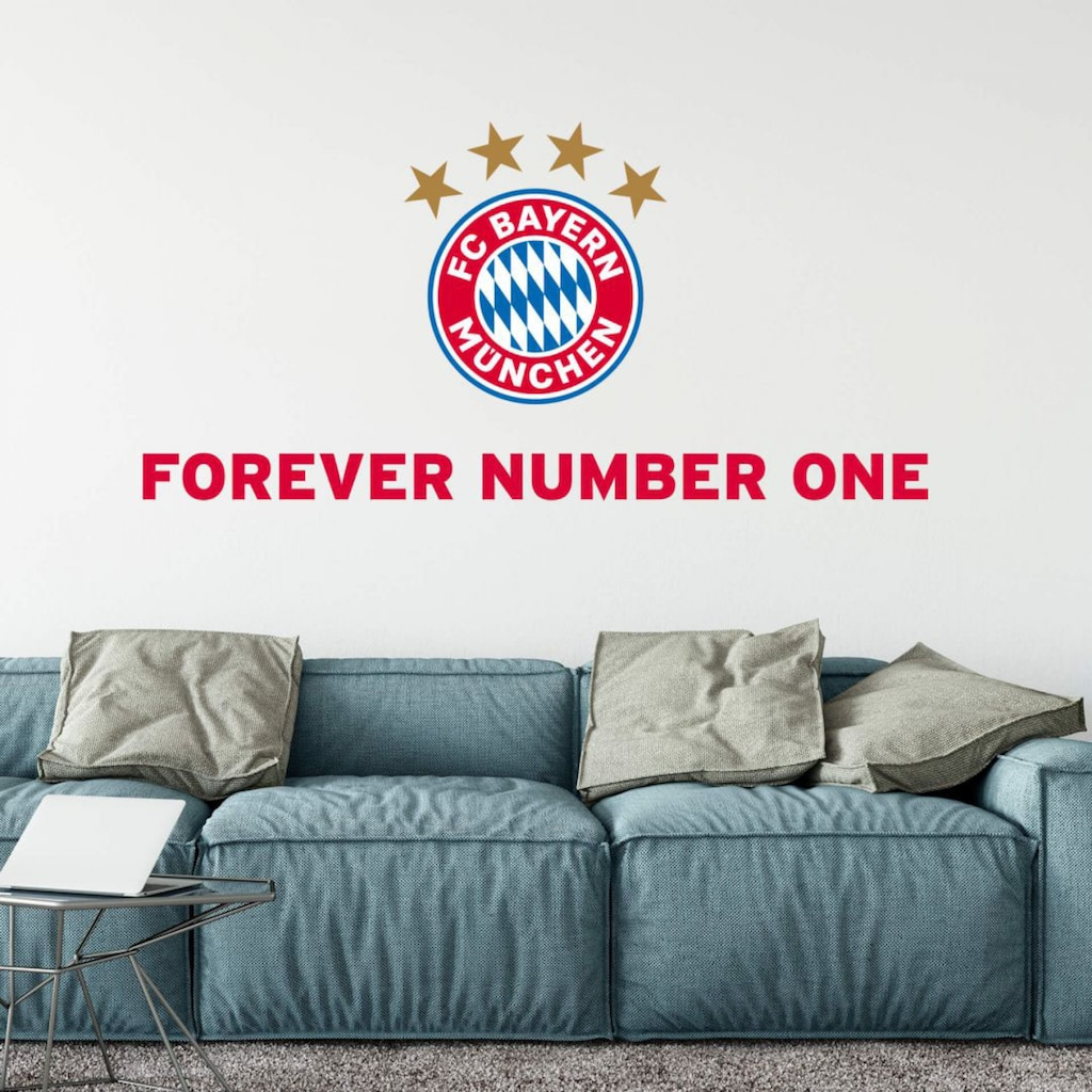 Wall-Art Wandtattoo »Aufkl Forever Number One«