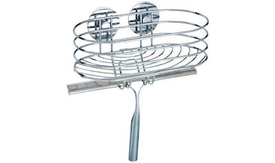WENKO Duschablage »Turbo - Loc«, inklusive Duschabzieher, Befestigen ohne bohren kaufen