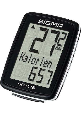 SIGMA SPORT Fahrradcomputer »BC 9.16« kaufen