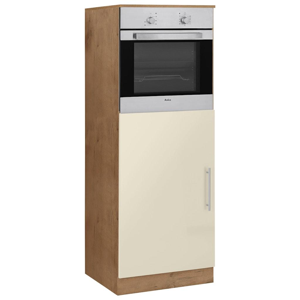 wiho Küchen Backofen/Kühlumbauschrank »Aachen«