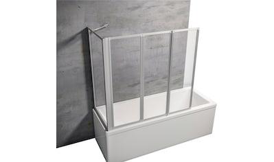 SCHULTE Komplett - Set: Badewannenaufsatz Zum Kleben oder Bohren, B x H x T: 127 x 121 x 70 cm kaufen