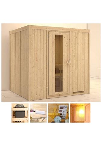 KONIFERA Sauna »Sanna«, 196x170x198 cm, ohne Ofen, Energiespartür kaufen