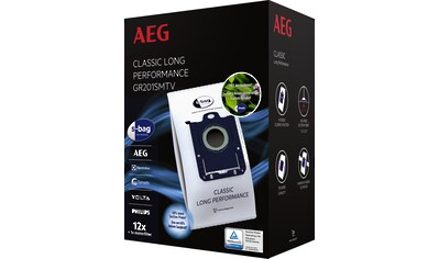 AEG Staubsaugerbeutel »GR201SMTV s-bag Megapack für AEG VX4, VX6, VX7, VX8« kaufen