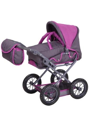 """Knorrtoys® Puppenwagen """"Ruby  -  tec purple"""" kaufen"""