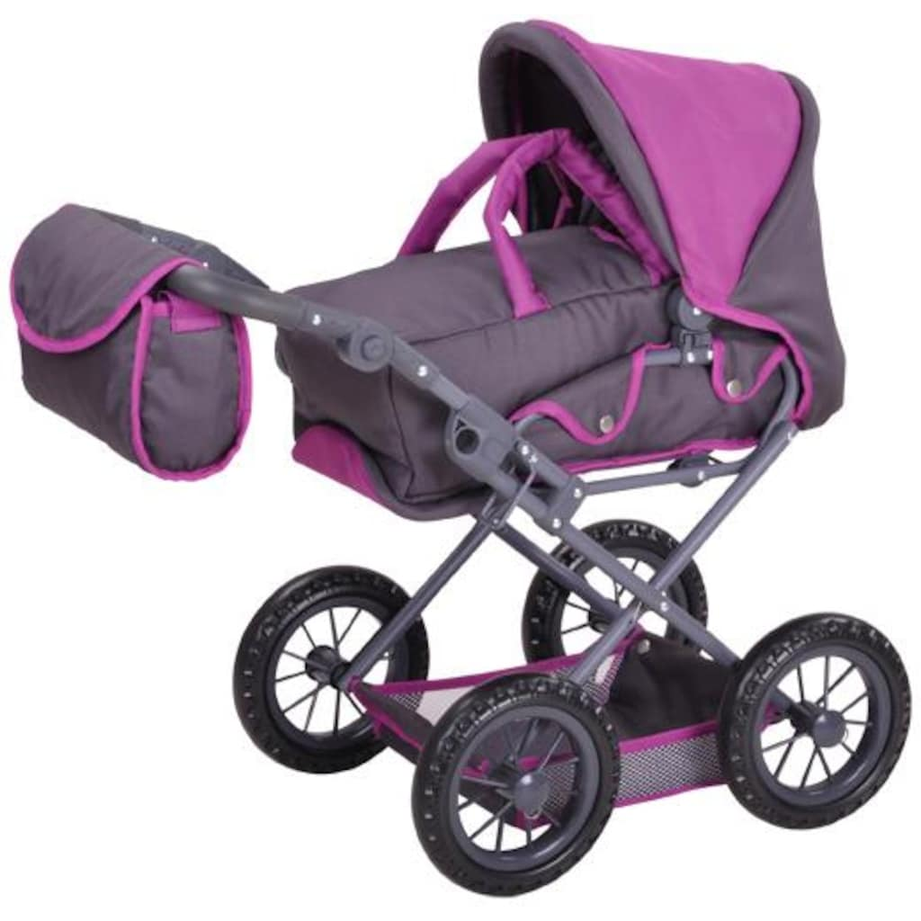 Knorrtoys® Puppenwagen »Ruby - tec purple«