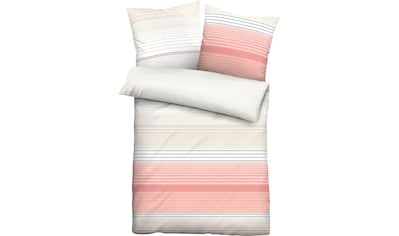 Bettwäsche »Streifen Quer«, Biberna kaufen