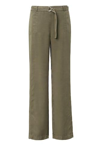 Basler Hose mit Bindegürtel und Taschen kaufen