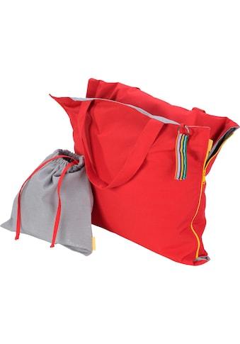 H.O.C.K. Strandtasche »Hhooboz L«, Maße ausgeklappt (BxL): 62/150 cm, Schonwäsche bei 30° kaufen
