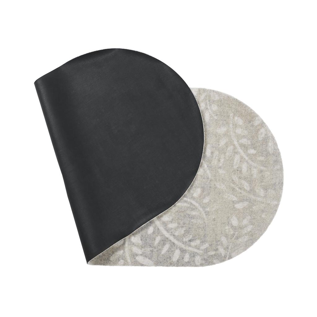 Fußmatte OVAL LEAVES in besonderer Form