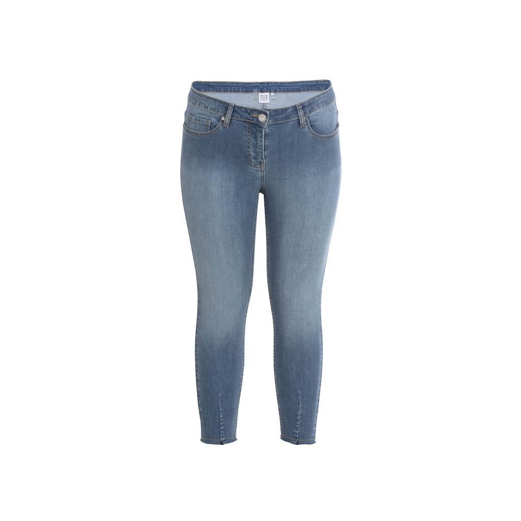 Rock Your Curves by Angelina K. Slim-fit-Jeans