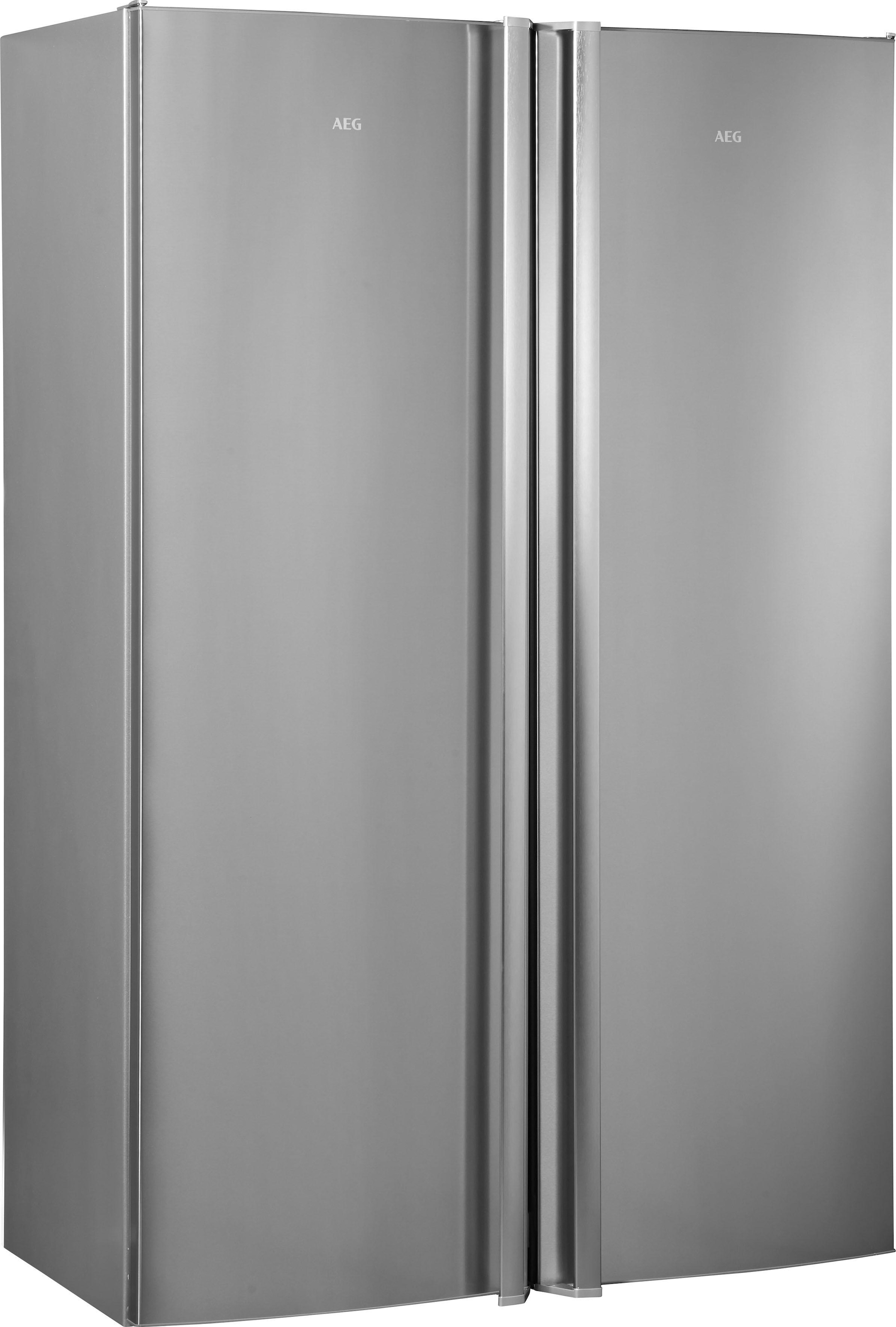 Aeg Kühlschrank Welche Stufe : Side by side kühlschrank auf rechnung raten kaufen
