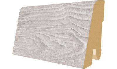 EGGER Packung: Sockelleiste »L515  -  Elva Eiche grau«, 6 cm Sockelhöhe kaufen