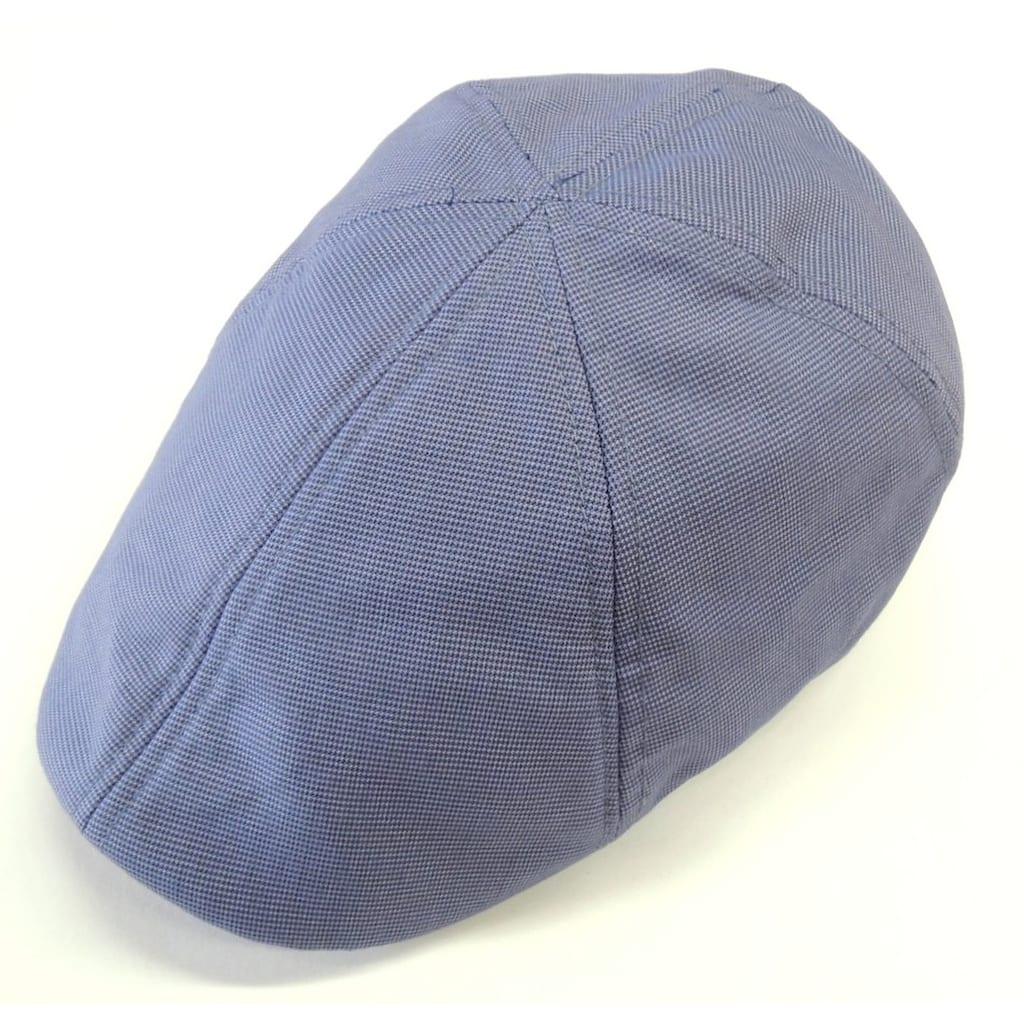 Chaplino Flat Cap, mit leichter Musterung