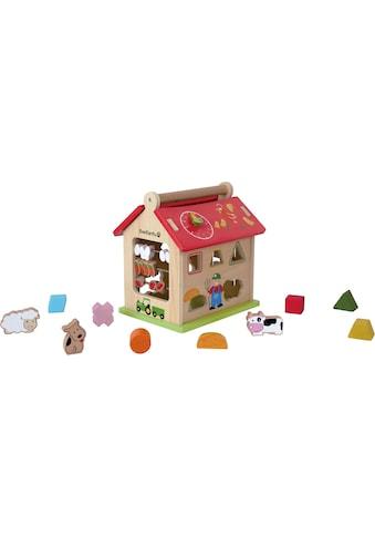 EverEarth® Steckspielzeug »Bauernhof Sortierspiel« kaufen