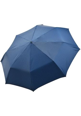 doppler MANUFAKTUR Taschenregenschirm »Orion, blau«, handgemachter... kaufen