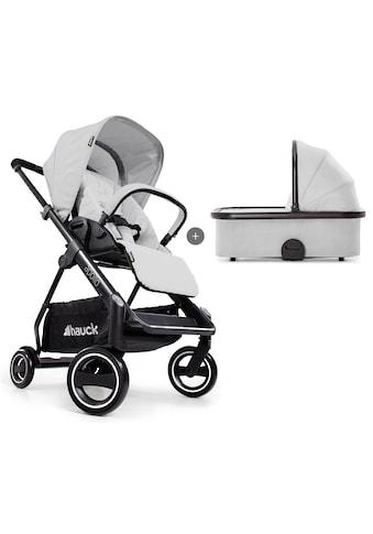 Hauck Sportbuggy »Apollo Duo Set, lunar«, inkl. Babywanne und Beindecke; Kinderwagen,... kaufen