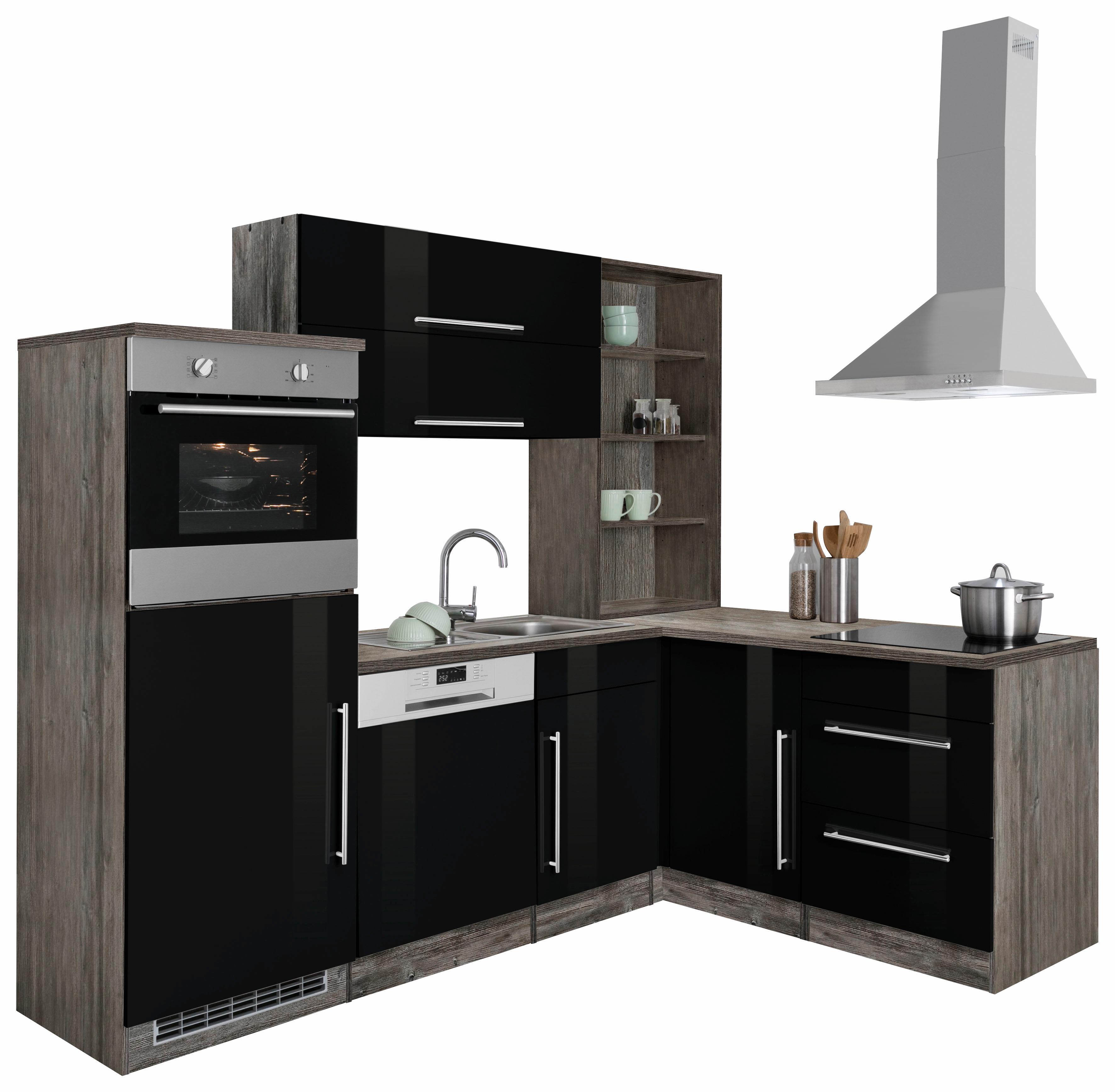 Bildquelle: HELD MÖBEL Winkelküche »Samos«, Ohne E Geräte, Stellbreite 230  X 170 Cm
