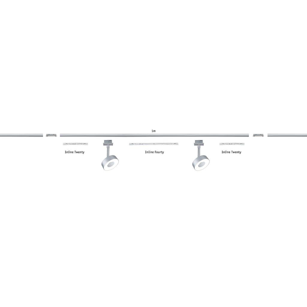 Paulmann LED Deckenleuchte »URail LED Spot Inline Fourty 3,3W Transparent 40cm«, 1 St., Warmweiß