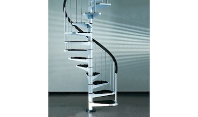 STARWOOD Spindeltreppe »AF26«, B: 110 cm, 11 Stufen, weiß kaufen