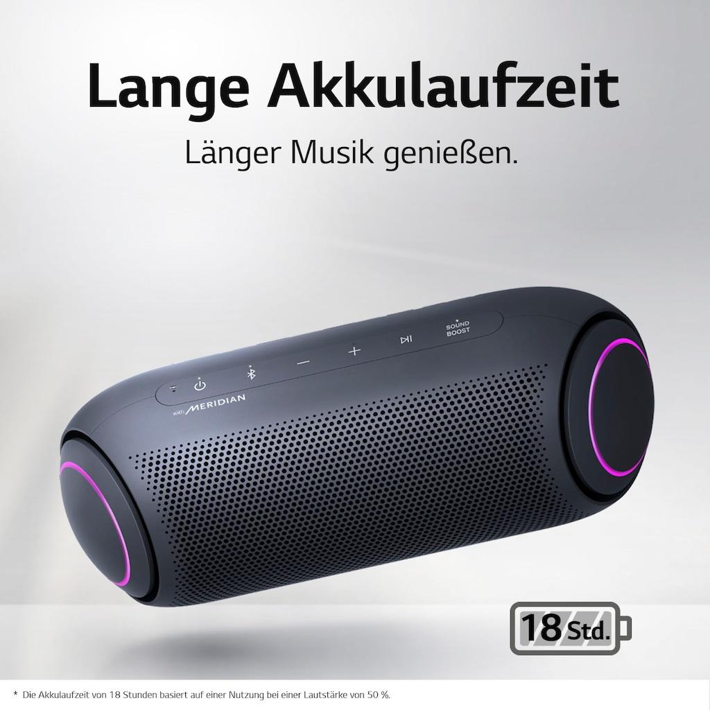 LG Bluetooth-Lautsprecher »XBOOM Go PL5«, Multipoint-Anbindung