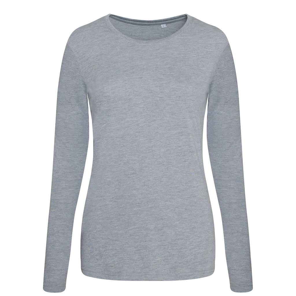 AWDIS Longsleeve »Damen Tri-Blend T-Shirt, langärmlig«