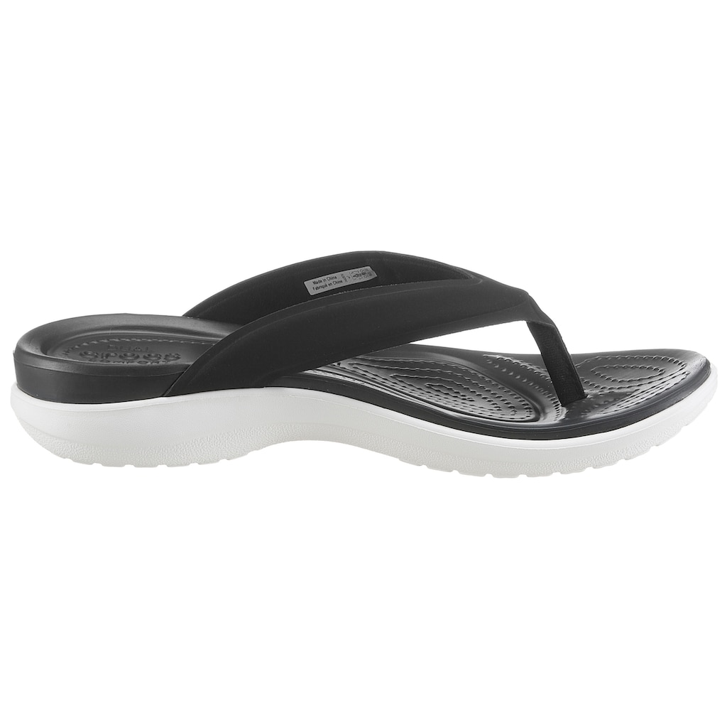 Crocs Badepantolette »Capri V Sporty Flip W«
