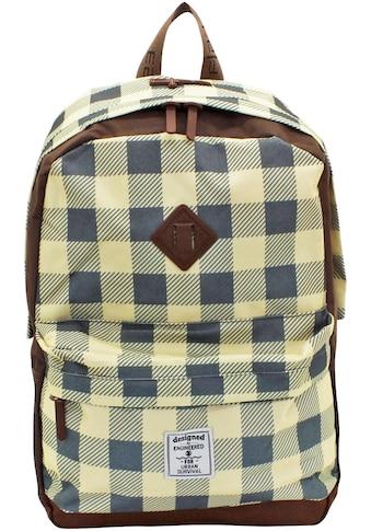F23™ Laptoprucksack »Daypack Check« kaufen