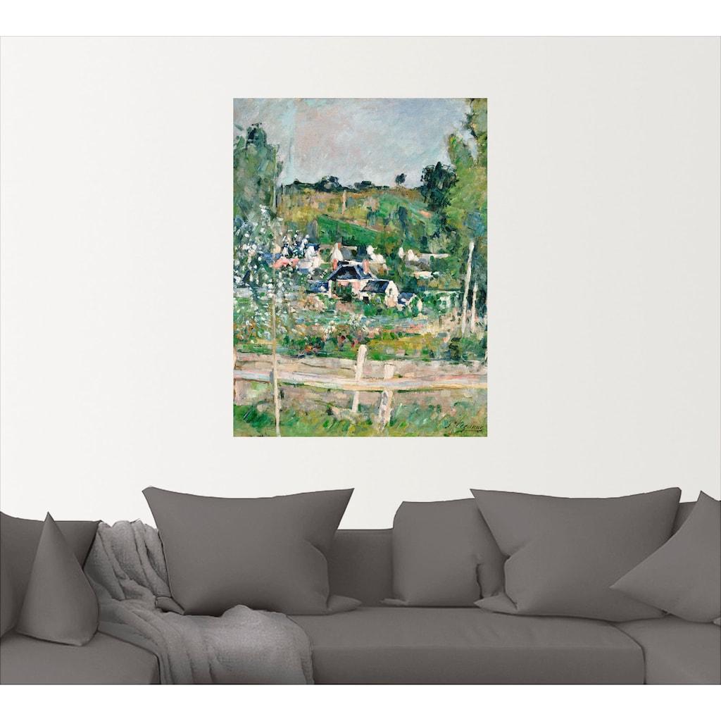 Artland Wandbild »Stillleben mit italienischer Fayence«, Garten, (1 St.), in vielen Größen & Produktarten -Leinwandbild, Poster, Wandaufkleber / Wandtattoo auch für Badezimmer geeignet