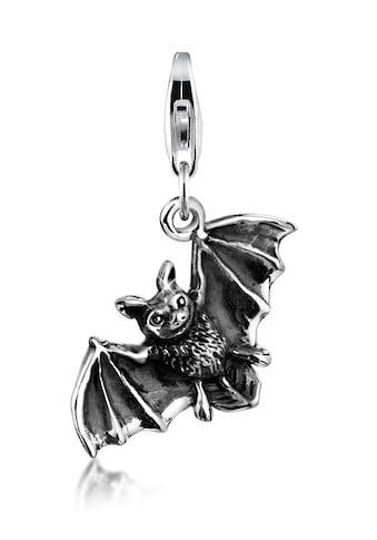 Nenalina Charm-Einhänger »Anhänger Fledermaus Halloween 925 Silber« kaufen