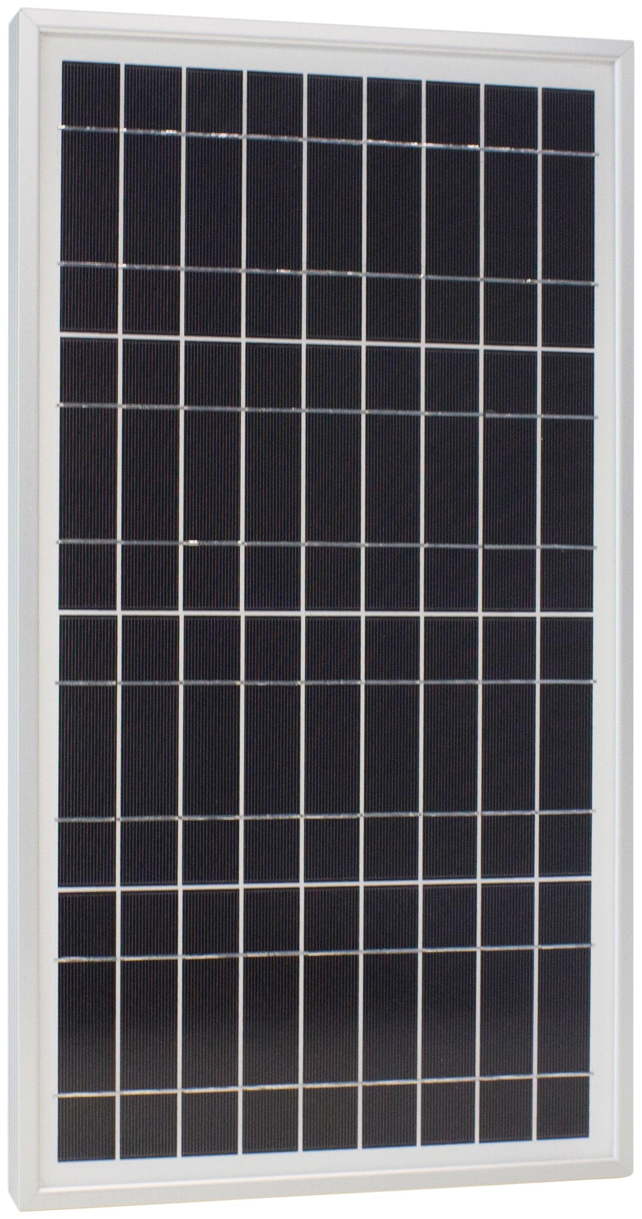 Phaesun Solarmodul Sun Plus 20 S, W, 12 VDC silberfarben Solartechnik Bauen Renovieren