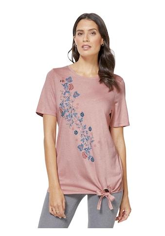 Pure Wear Shirt mit Blumenmuster kaufen