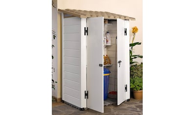 GAROFALO Kunststoffhaus »TUSCANY 100.2P«, BxTxH: 123x83x201 cm kaufen