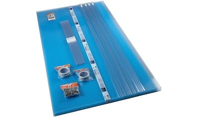 PALRAM Set: Hohlkammerplatte »Sunlite«, 10 mm, 4 Stück á 98x250 cm kaufen