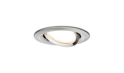 Paulmann LED Einbaustrahler »schwenkbar Nova rund 1x6,5W Eisen gebürstet... kaufen