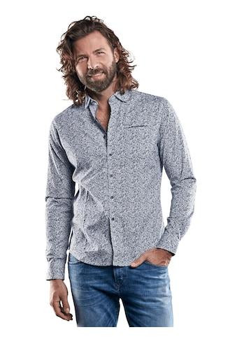 emilio adani Print - Hemd aus Comfort - Stretch kaufen