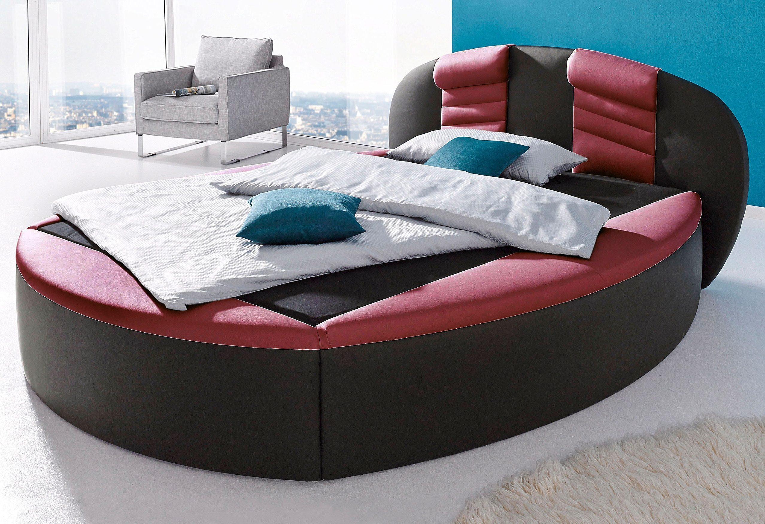 Westfalia Schlafkomfort Rundbett | Schlafzimmer > Betten > Rundbetten | Rot | Westfalia Schlafkomfort