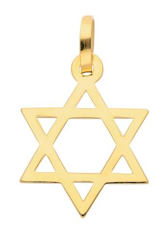 Adelia´s Kettenanhänger »585 Gold Anhänger Davidstern« kaufen