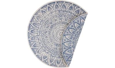 Teppich, »Lilja«, freundin Home Collection, rund, Höhe 5 mm, maschinell gewebt kaufen