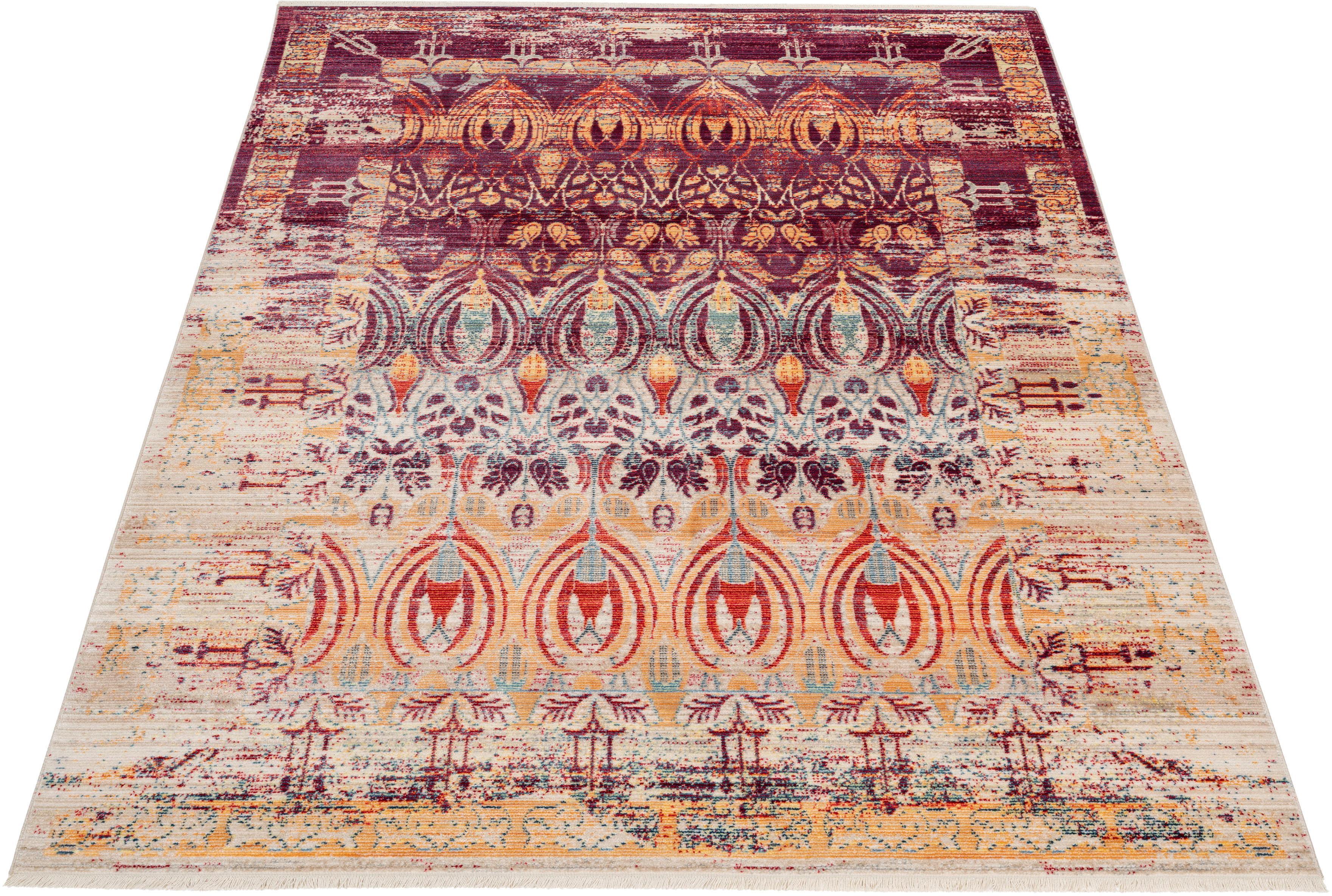 Teppich Damian DELAVITA rechteckig Höhe 5 mm maschinell gewebt