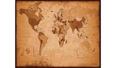 Reinders! Deco-Panel »Weltkarte - antik« kaufen