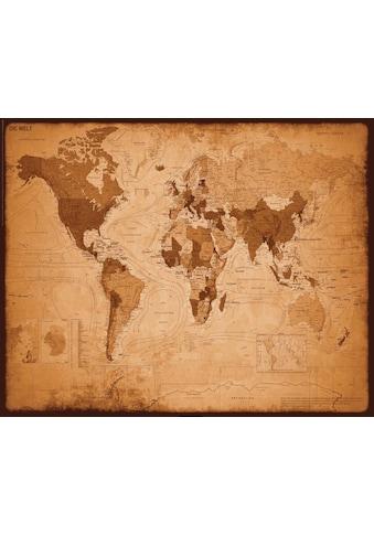 Deco-Panel »Weltkarte - antik« kaufen