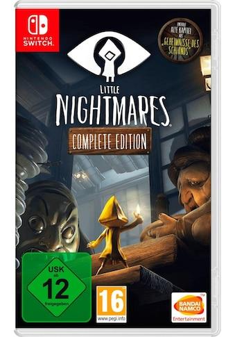 BANDAI NAMCO Spiel »LITTLE NIGHTMARES COMPLETE EDITION«, Nintendo Switch, Software... kaufen