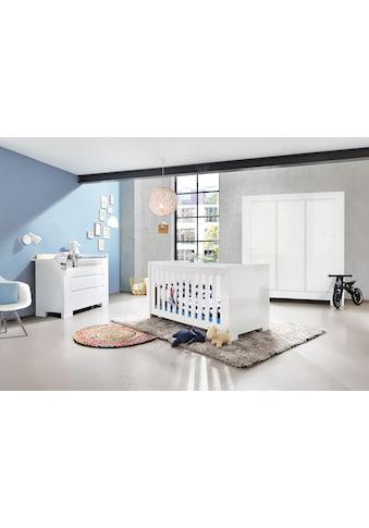 Pinolino® Babyzimmer-Komplettset, (Set, 3 St.), breit groß; bestehend aus Kinderbett,... kaufen