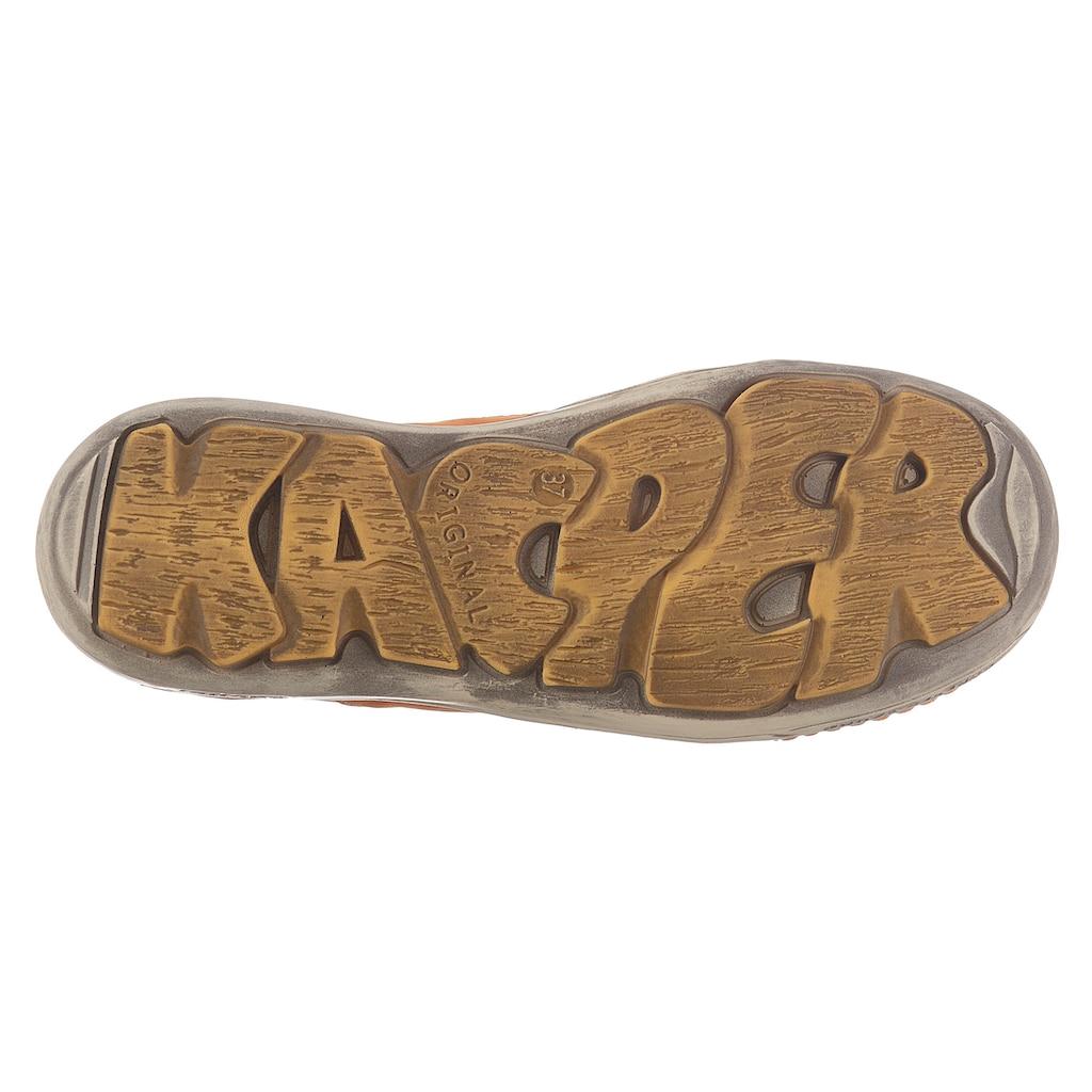 KACPER Slipper, mit verdecktem Stretcheinsatz