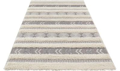 Teppich, »Taza«, freundin Home Collection, rechteckig, Höhe 35 mm, maschinell gewebt kaufen